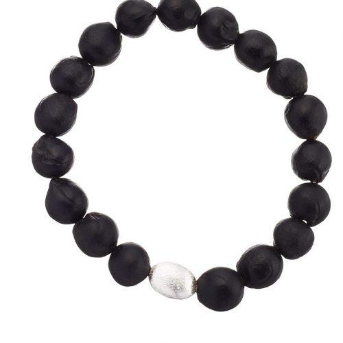 Grumeti stretch bracelet silver