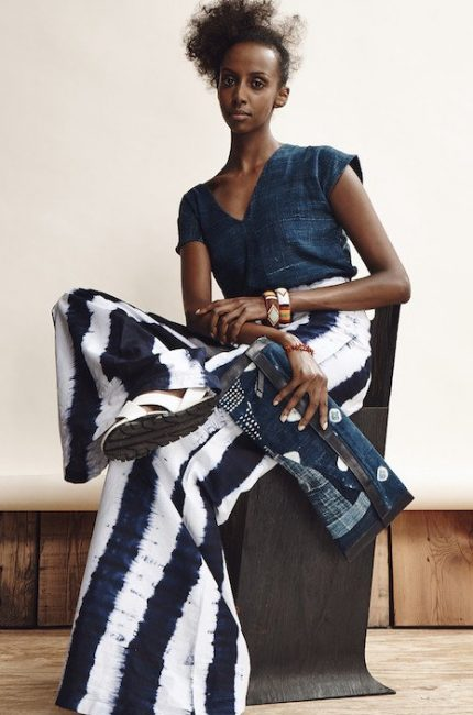 We dive into a sea of Indigo dyed fashion from Studio 189